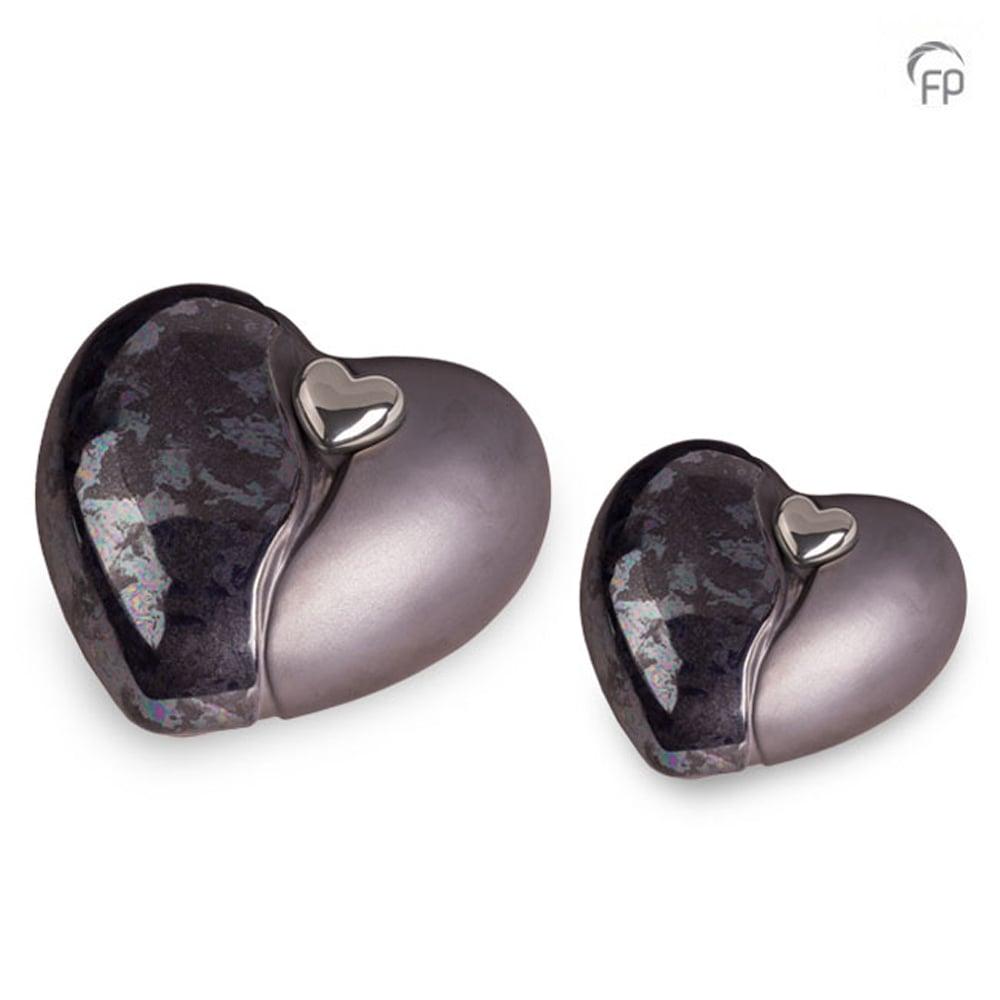 keramisch-hart-urn-zwart-olie-effect-glad-ruw-zilverkleurig-hart-lijn-effect_ku-037-set_funeral-products_203-204