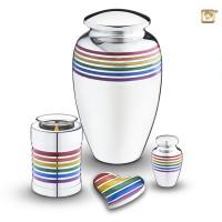 Urnenserie Pride® Rainbow, 4 varianten