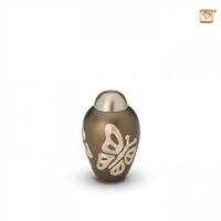 Gold Butterfly mini-urn