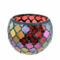 Mozaïek Waxinelichthouder – 8 kleuren
