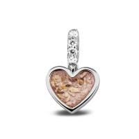 Zilveren bedels/charms met oog voor armband