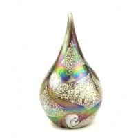 """Glazen mini-urn """"Drop"""", Elan Collection, 2 kleuren"""