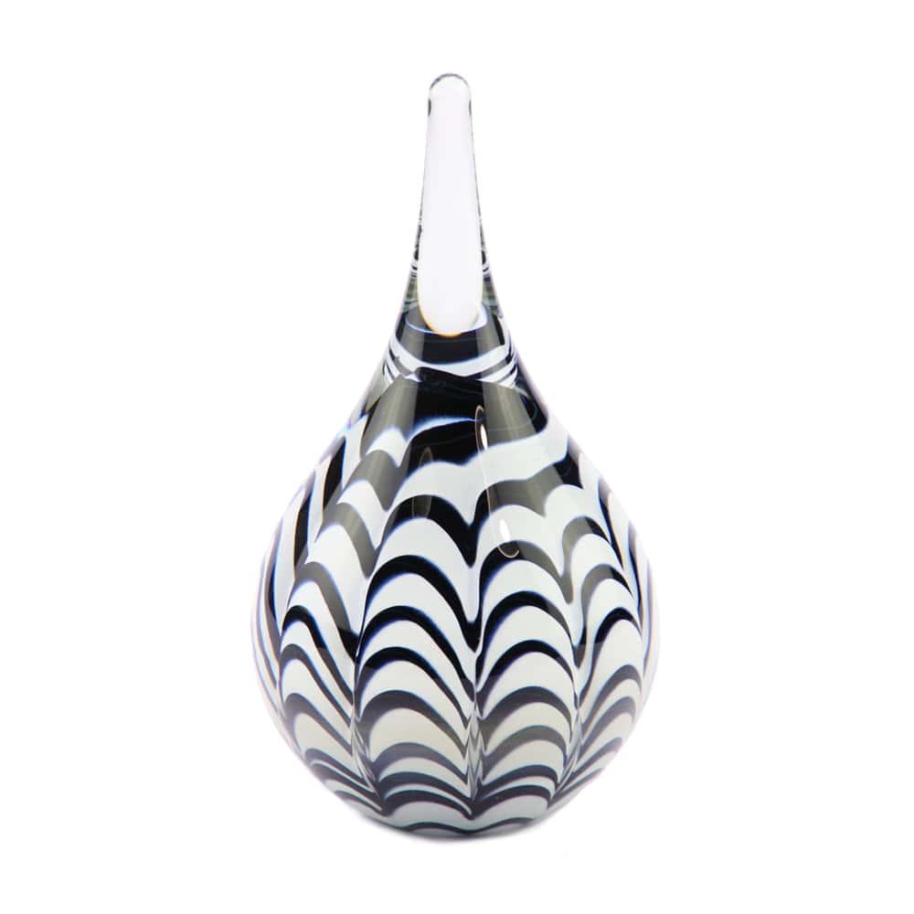 glazen-as-druppel-klein-zwart-wit-opaque-niet-transparant-memorie-lijn-eeuwige-roos_u-32-zw_2019_memento-aan-jou-min