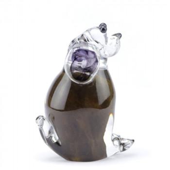 glazen-mini-urn-hond-zittend-bruin_memorie-lijn-eeuwige-roos_u-07-b_2006_memento-aan-jou-min