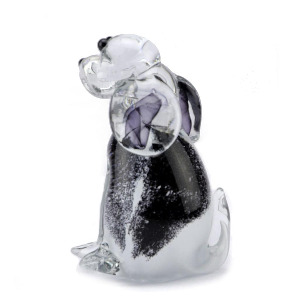 glazen-mini-urn-hond-zittend-zwart-wit-2_memorie-lijn-eeuwige-roos_u-07-zw_2006_memento-aan-jou-min