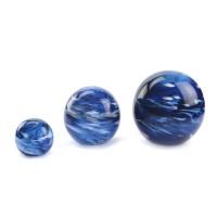 """Glazen urn, """"Elan Marble"""" 4 kleuren en 3 maten"""