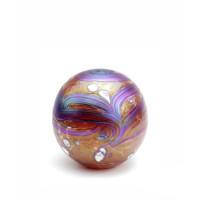 Glazen urn, Elan collection, Rood