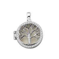 Zilveren hanger met levensboom, 2 varianten