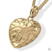 Ashanger hartvorm met bewerking-AH069