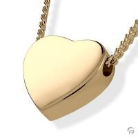 Ashanger hartvorm glanzend