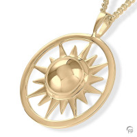 Ashanger cirkel met zon