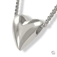 Ashanger hartvorm a-symetrisch, glanzend