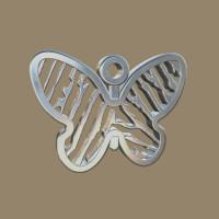 Vingerafdrukhanger, 3D, vlinder