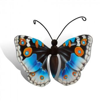 vlinder-mini-urn-idea-deuconoe-blauw-wit-zwart-oranje-bovenzijde_nf-4056