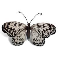 Houten mini-urn vlinder op granieten blokje, 21 varianten