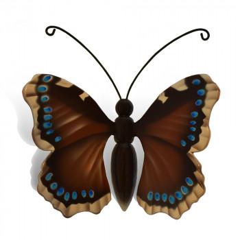 vlinder-mini-urn-koningsmantel-bruin-blauw-wit-zwart-bovenzijde_nf-4069