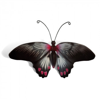 vlinder-mini-urn-rumazonia-zwart-wit-rose-bovenzijde_nf-4058
