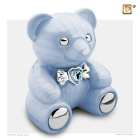 Urn CuddleBear®, rose of blauw