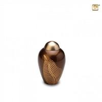 Gold Leaf mini-urn