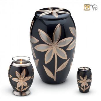 Urnenserie-Majestic-lilies-zilver-goud-accent-set_LU-A-K-T-503-set_love-urns_114-115-116