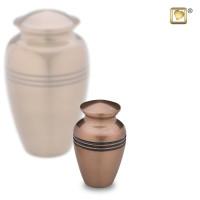 Mini-urn Radiance® met lijn accent, 3 kleuren