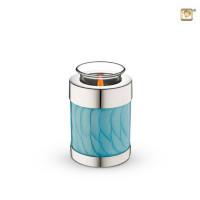 Kaarsenhouder met asruimte diverse kleuren