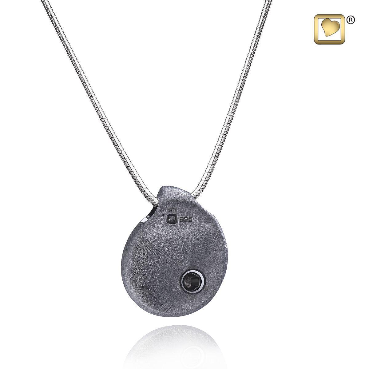 zilveren-donkere-druppel-traan-ashanger-collier-achterzijde_ptd-003_funeral-products_treasure_3022