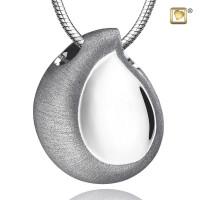 TearDrop® collier met asruimte, 3 kleuren