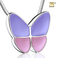 "Vlinder collier ""Wings of Hope"", 3 kleuren"