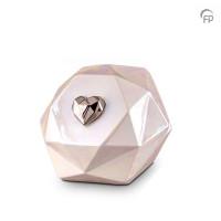 Keramische urn, Diamant, 2 kleuren en maten