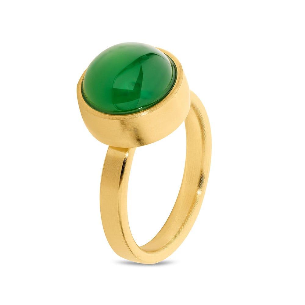stalen-geelgoud-vergulde-ring-groen-agaat_tadblu-ring-geelgoud-verguld-groene-agaat_tadblu_1626_memento-aan-jou