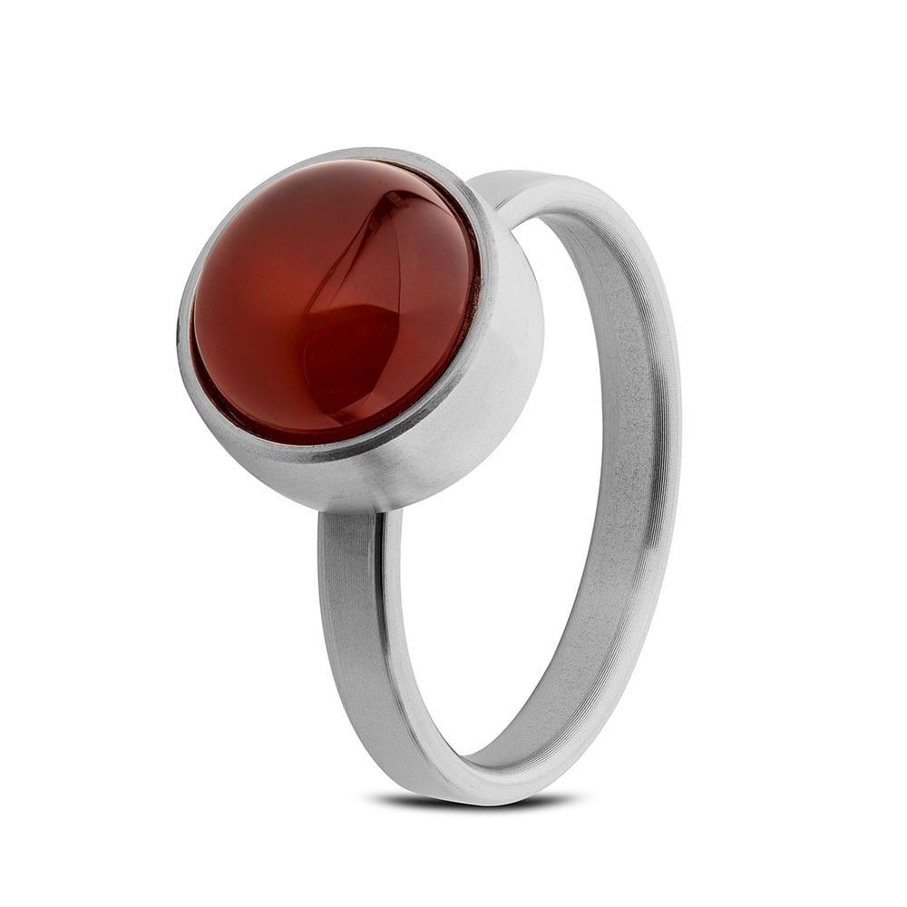 stalen-ring-rode-agaat_tadblu-ring-staal-rode-agaat_tadblu_1631_memento-aan-jou