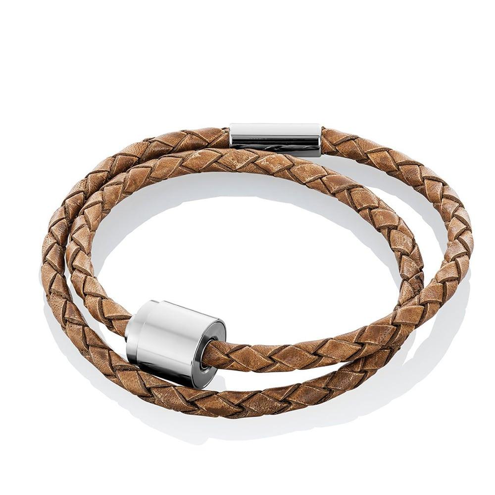 cognac-lederen-gevlochten-armband-asruimte-staal-barrel_-tadblu-barrel-bracelet-cognac-gevlochten_tadblu_1603_memento-aan-jou