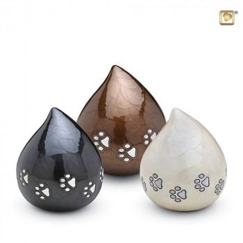 messing-dieren-urn-druppel-wit-bruint-antraciet-zilveren-poot_-LU-P-633-634-635_Love-Urns_memento-aan-jou