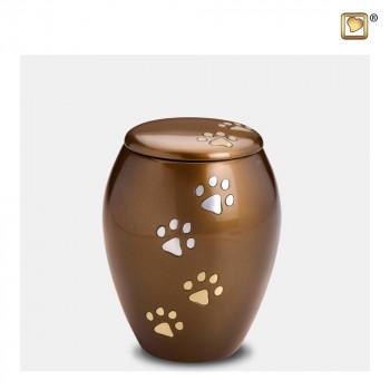 urn-bruin-hoog-zilver-gouden-hondenpoten-majestic-paws-bronze-small_lu-p-504s