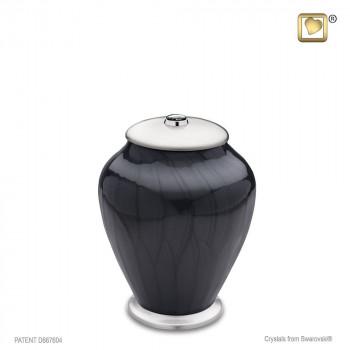 antraciet-kleurige-pareleffect-urn-zilverkleurige-sluitdeksel-swarovski-kristal-simplicity-midnight-pearl-medium_lu-m-523-min