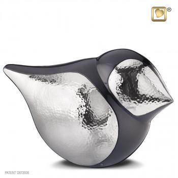 antraciet-kleurige-urn-klassieke-vrouwtjes-vogel-glanzend-gehamerd-zilver-effect-soudbird-female-groot_lu-a-561
