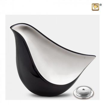 antraciet-kleurige-urn-moderne-vogel-mat-zilver-effect-lovebird-midnight-groot-sluitschroef_lu-a-550