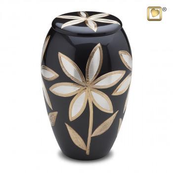 antraciet-urn-lelies-effect-goud-kleurig-parel-lillies-groot_lu-a-503
