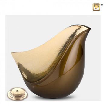 bruin-kleurige-urn-goudkleurige-gehamerd-effect-lovebird-bronze-groot-sluitschroef_lu-a-551