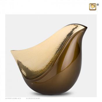 bruin-kleurige-urn-goudkleurige-gehamerd-effect-lovebird-bronze-groot_lu-a-551