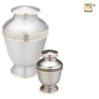 Mini-urnen Elegant® 2 kleurig met lijn effect