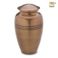 Urnenserie Radiance® met lijn accent, 3 kleuren, 2 maten