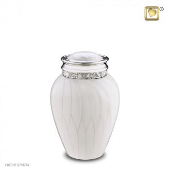 urn-wit-parel-zilverkleurig-accent-medium-blessing_lu-m-297