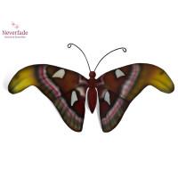 Houten mini-urn vlinder op granieten blokje, Atlas