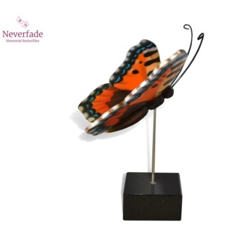 vlinder-mini-urn-kleine-vos-oranje-bruin-blauw-wit-zijkant-met-blokje_nf-4070_memento-aan-jou