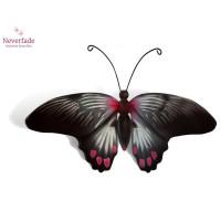 Houten mini-urn vlinder op granieten blokje, Rumanzovia
