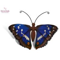 Houten mini-urn vlinder op granieten blokje, Weerschijn