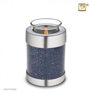 waxinelicht-indigo-gespikkeld-kleurige-urn-mat-geborsteld-zilverkleurig-effect-tealight-speckled-indigo_lu-t-663