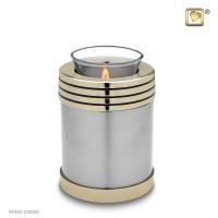 Urnenserie Elegant® 2 kleurig met lijn effect